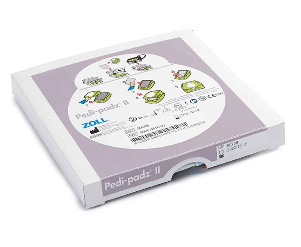 AED Plus Pediatric Defibrillator Electrodes