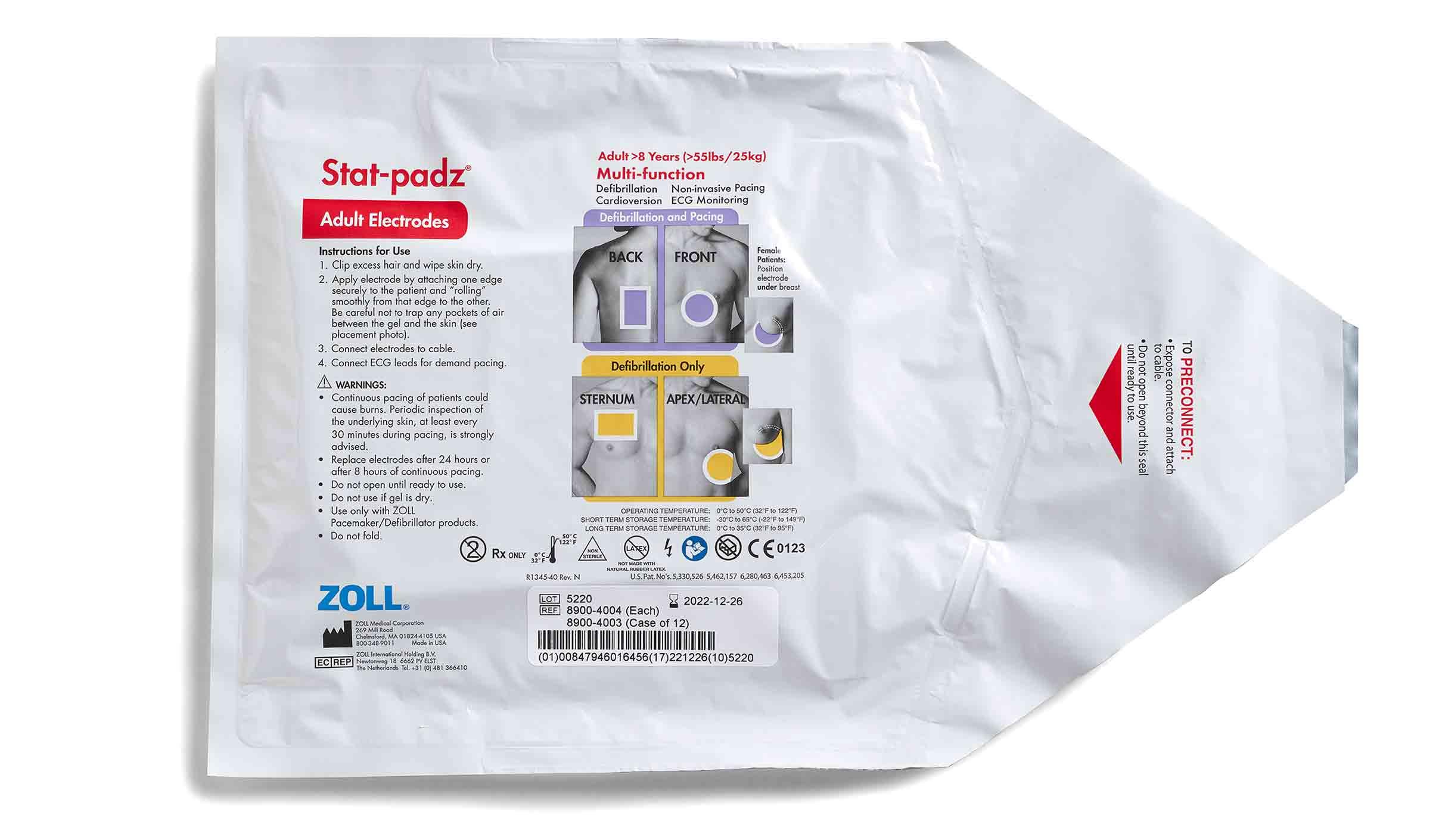 stat padz Defibrillator Electrodes