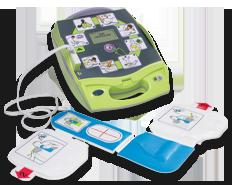 AED Plus mit Pads