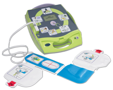 AED Plus with pads