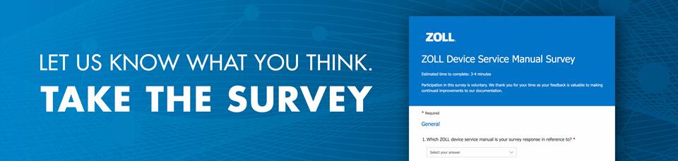 ZOLL Device Manual Survey