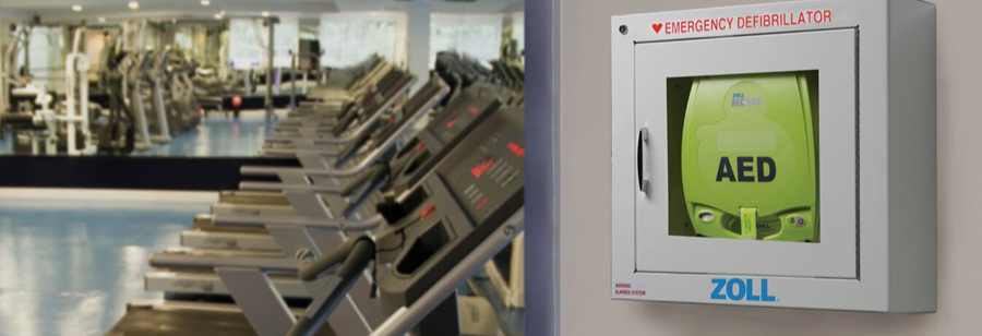ZOLL AED Plus Gym