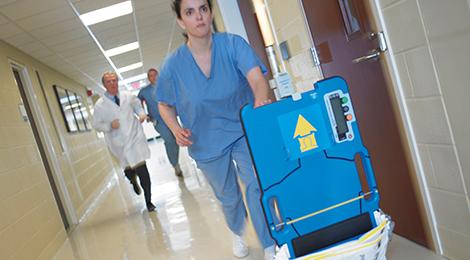 AutoPulse pour les hôpitaux