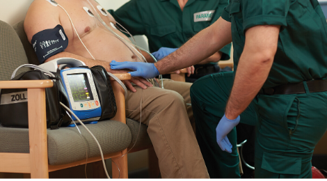 XSeries-monitor/defibrillator voor medische hulpdiensten