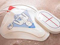 Électrodes pour l'hôpital