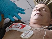 Elektroden voor medische hulpdiensten