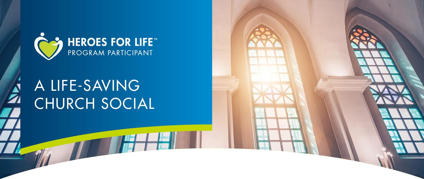 Church Social Save Story
