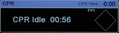 Cronómetro de inactividad de RCP - X Series
