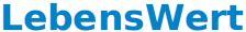 Logo LebensWert neu