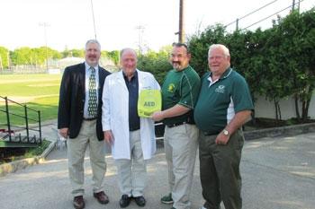 Adirondack Cardiology Donates Defibrillators