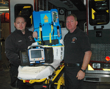 X Series and AutoPulse on display with Firefighter and Captain