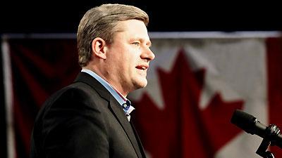 Canadian Prime Minister Harper