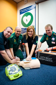 CIty West UK AED Plus