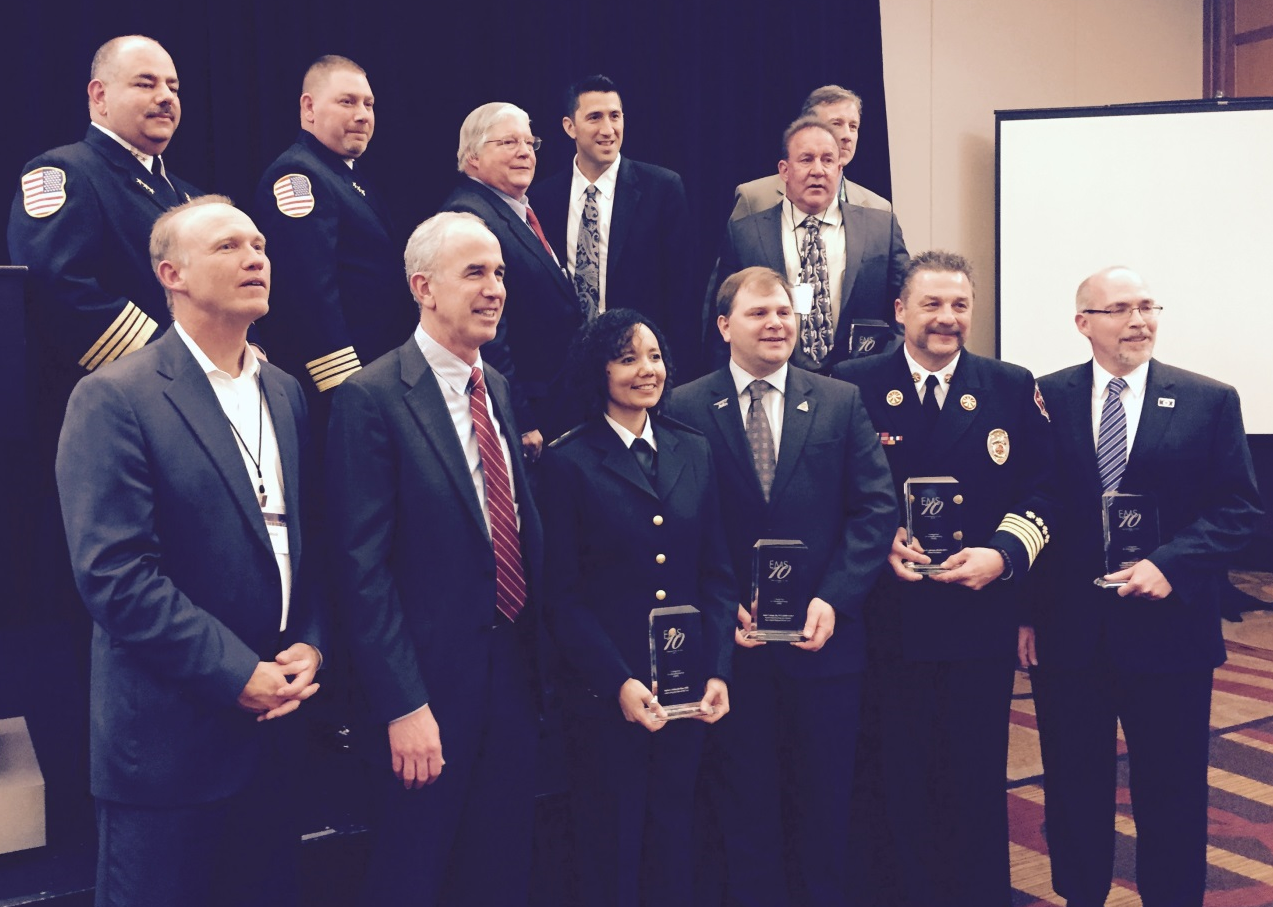 Dr. Lurie honored as one of EMS 10.