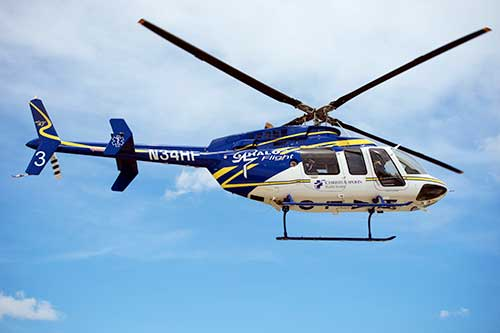 HaloFlight helicopter