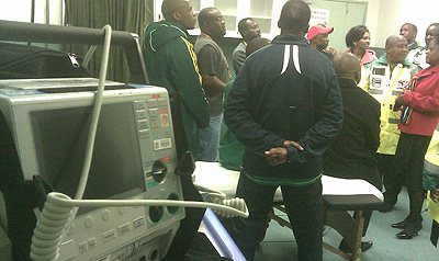 World Cup - ZOLL defibrillators