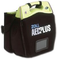 AED Plus de ZOLL en su bolso de transporte