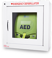 AED in Cabinet - 7in