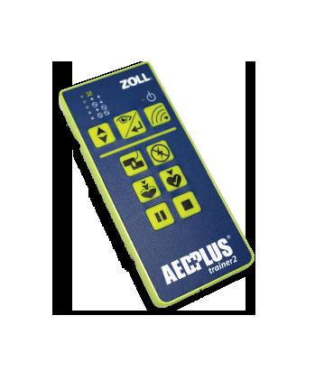 Draadloze reserveafstandsbediening voor de AED Plus Trainer2