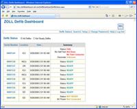 Defib Dashboard 产品截图