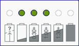 SP Defibrillator Charger Indicator