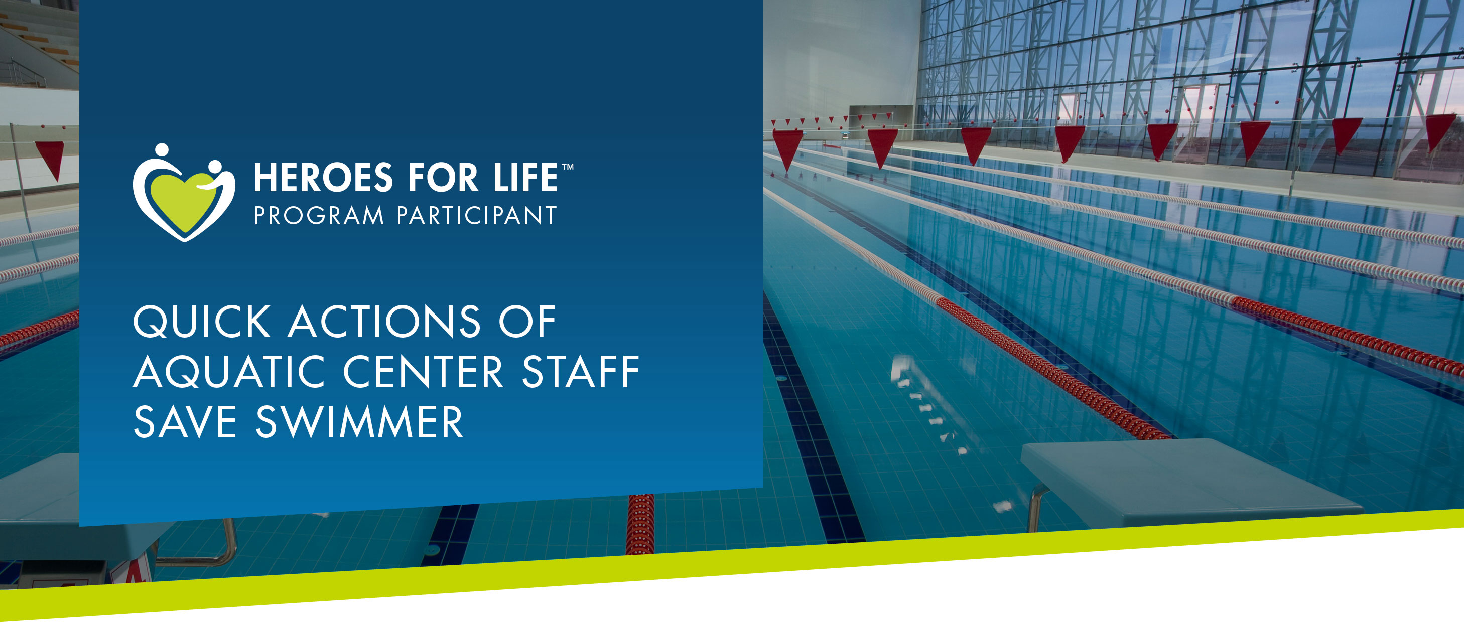 QUICK ACTIONS OF AQUATIC CENTER STAFF SAVE SWIMMER