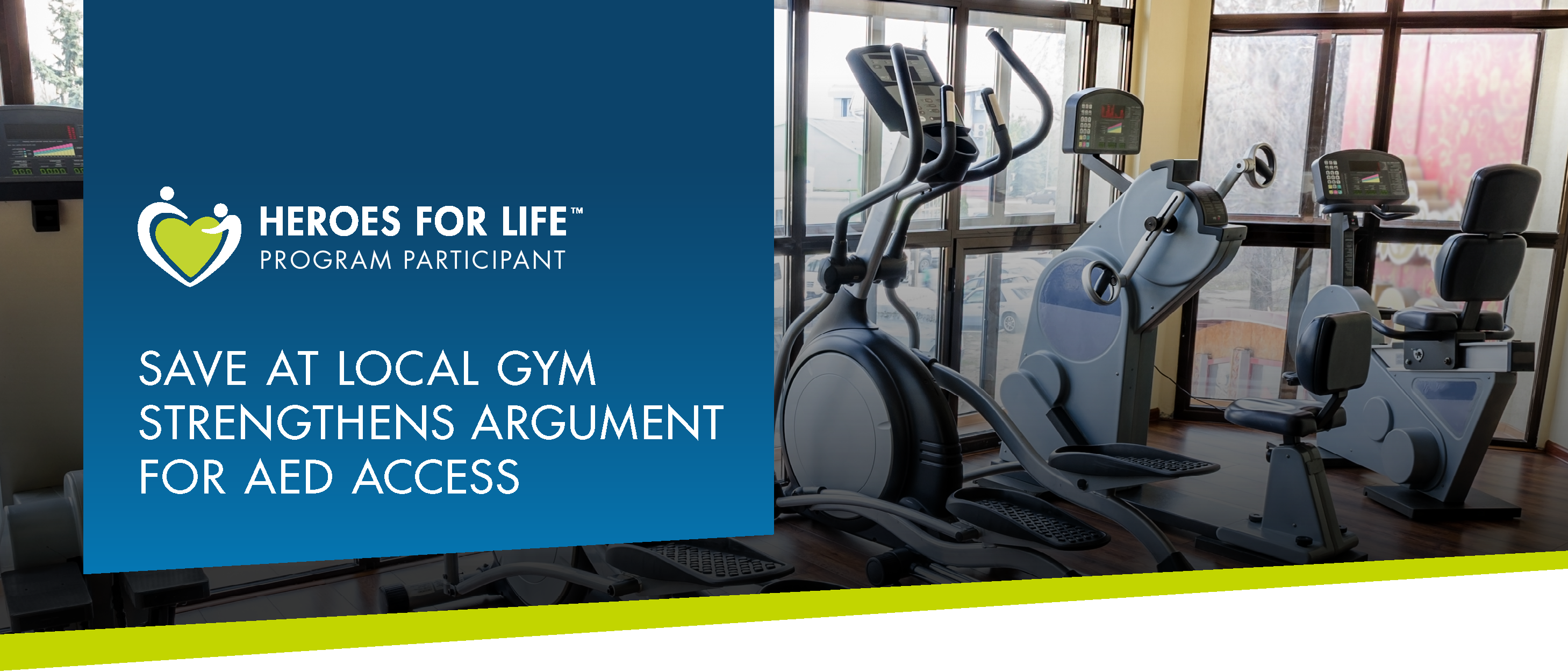 Save At Local Gym Strengthens Argument For AED Access