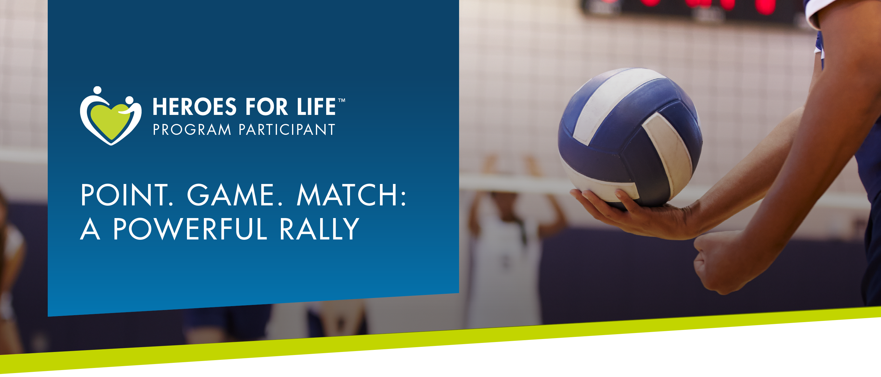 POINT. GAME. MATCH: A POWERFUL RALLY