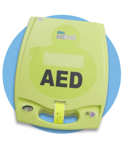 Register to win an AED