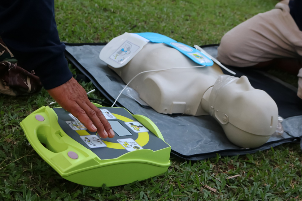 ZOLL AED for high-quality cpr